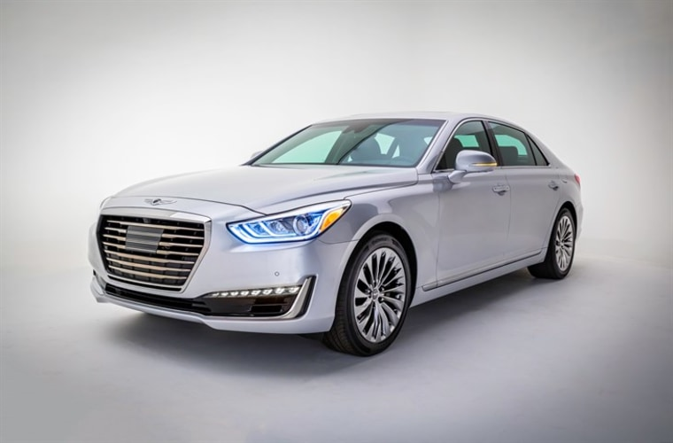 Genesis G90. Photo courtesy of Hyundai.