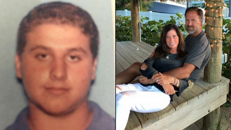 Austin Harrouff, left, is accused of killing John Joseph Stevens and Michelle Karen Mishcon.