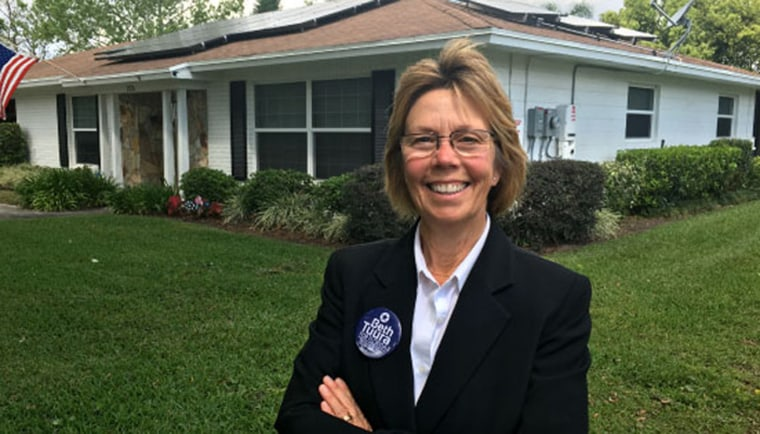 Beth Tuura is running for Florida's House District 47 as a Democrat.
