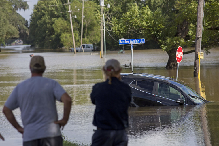 IMAGE: Flooding in Prairieville, La.