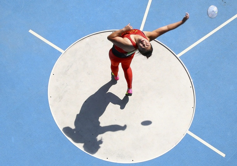Image: Athletics - Women's Discus Throw Final