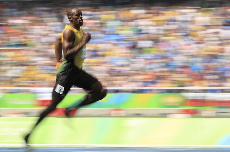 Image: Athletics - Men's 200m Round 1