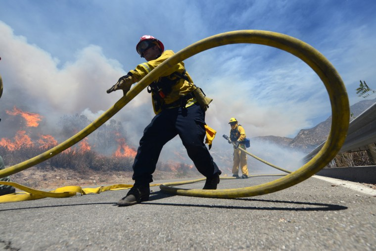 Growing California Wildfire Prompts Mandatory Evacuations