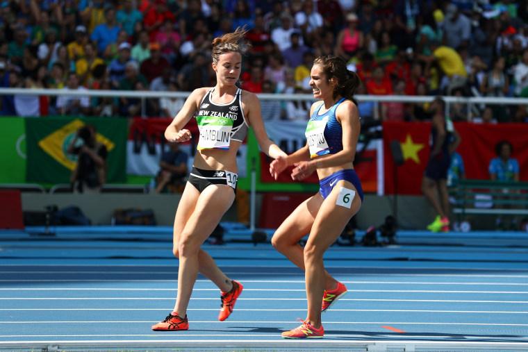 Image: Athletics - Olympics: Day 11