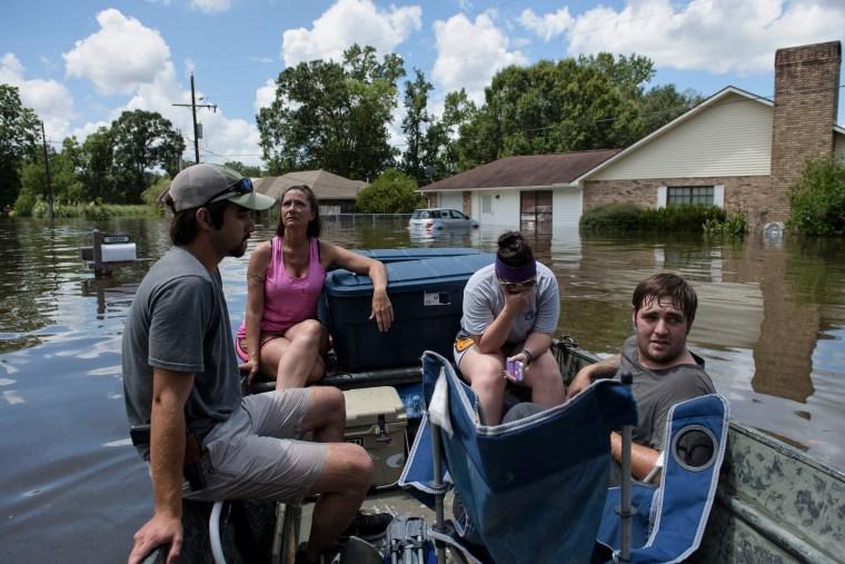 Image: Louisiana floods