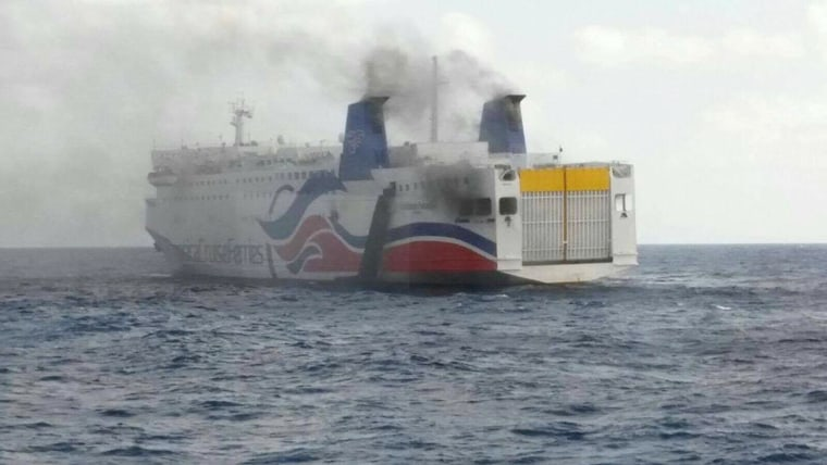 Smoke was spotted aboard the Caribbean Fantasy as it traveled near Puerto Rico's north coast leading to the evacuation of 500 passengers.