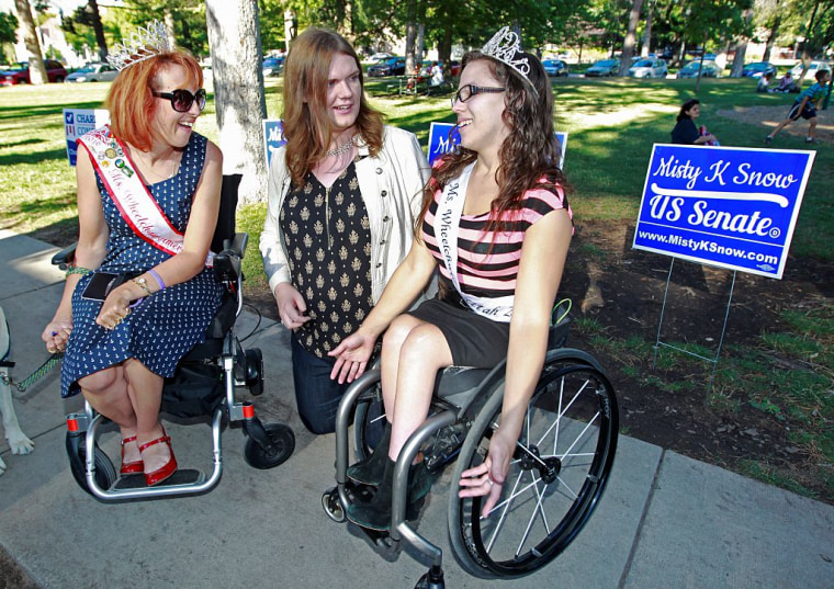 Transgender U.S. Senate Candidate Misty Snow Holds Campaign Event In Utah