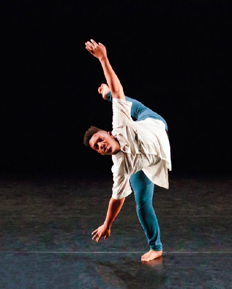 DaJuan Harris, a performer with the BalaSole Dance Company