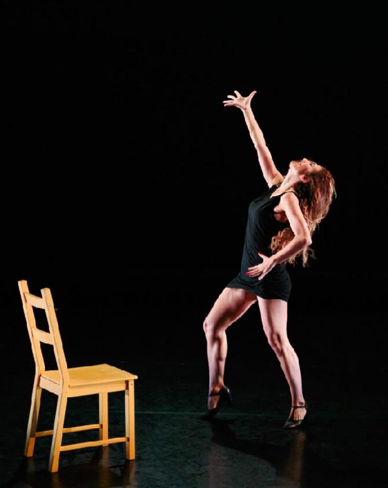 Vanessa Calderon, a performer in the BalaSole Dance Company