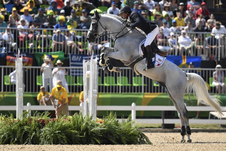 Image: TOPSHOT-EQUESTRIAN-OLY-2016-RIO