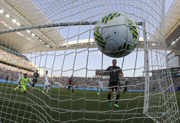 Image: Football - Men's Tournament Semifinal Nigeria v Germany