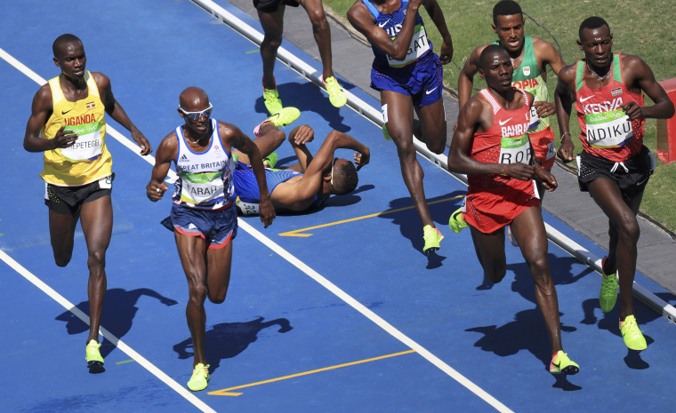 Image: Athletics - Men's 5000m Round 1