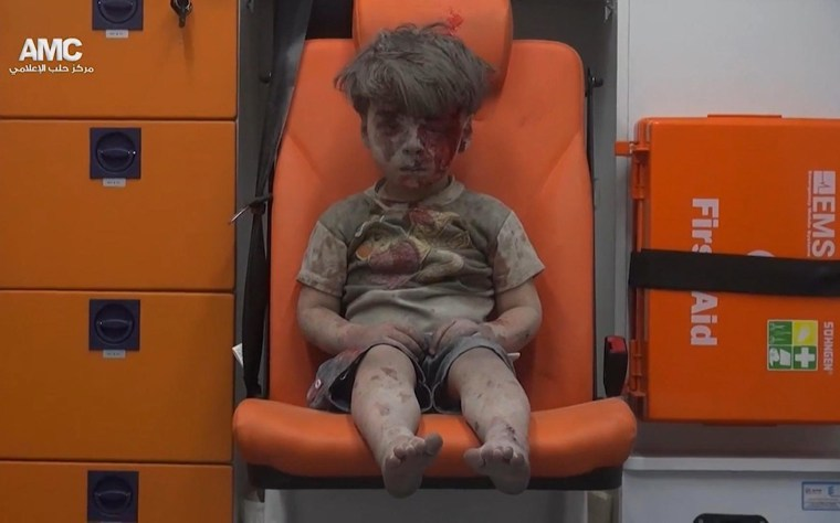 Image: A child from Aleppo