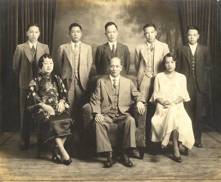 The Wong Family, American born and educated, The Chinese Exclusion Law made it difficult for the young generation to find employment, forcing many families to seek opportunities back in China.