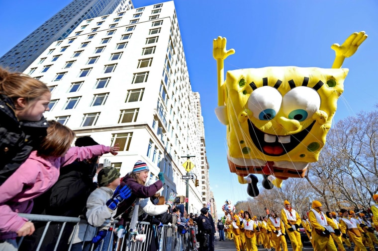 Image: MACY'S THANKSGIVING DAY PARADE