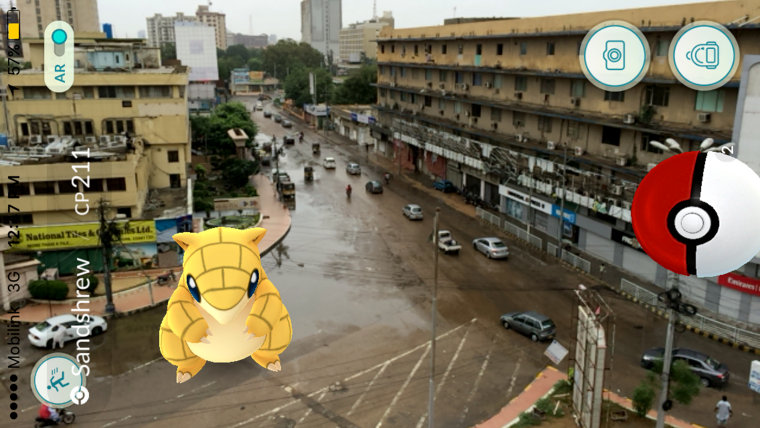 Image: Pokemon in Karachi, Pakistan