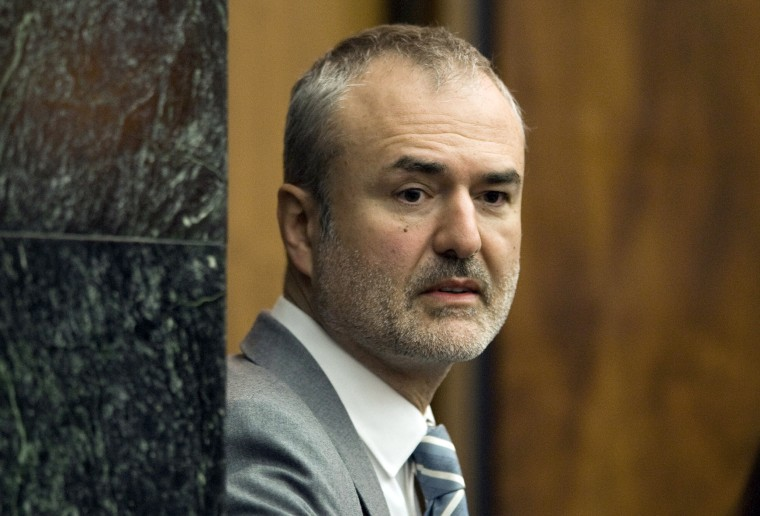 Gawker Media founder Nick Denton arrives in a courtroom in St. Petersburg, Fla on March 16, 2016.