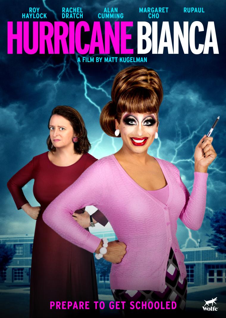 """Hurricane Bianca"" film poster."