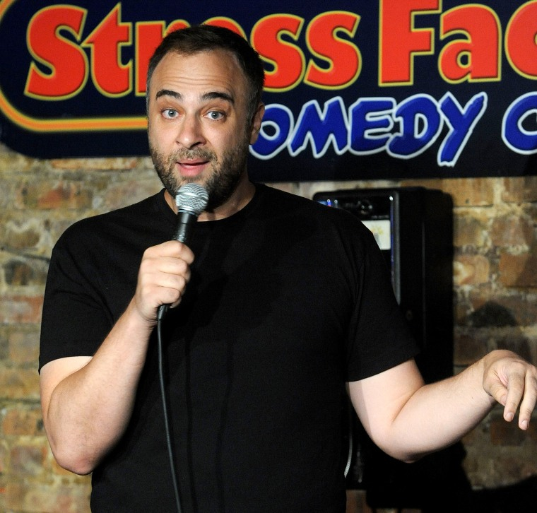 Comedian Kurt Metzger Performs At Stress Factory Comedy Club