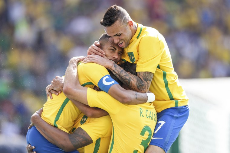 Brazil vs Honduras - Semi Final: Men's Football - Olympics: Day 12