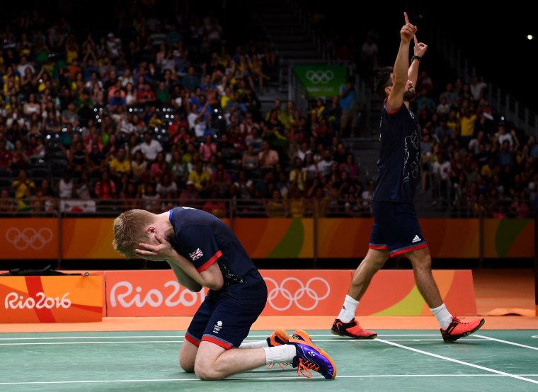 Image: BESTSPIX - Badminton - Olympics: Day 13