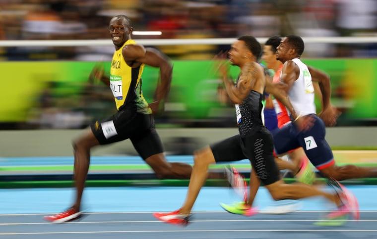 Image: Athletics - Men's 100m Semifinals