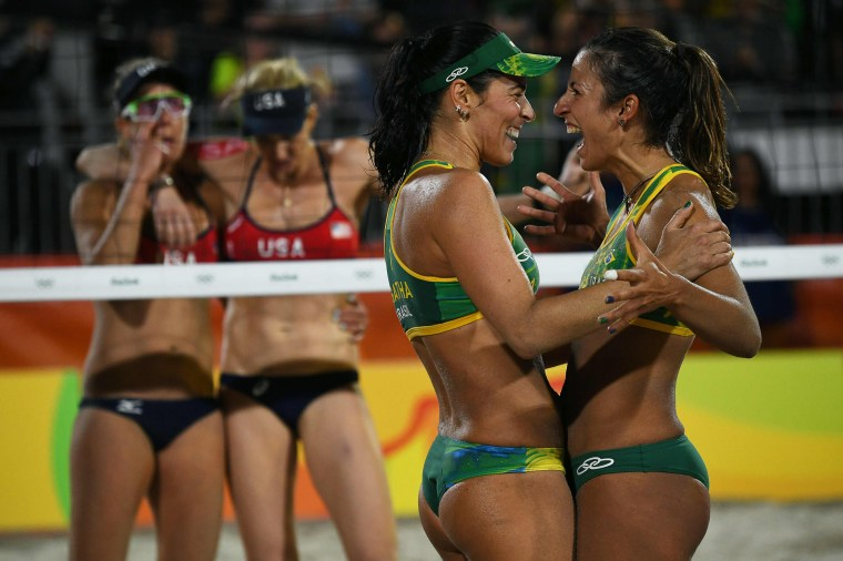 Image: BEACH VOLLEYBALL-OLY-2016-RIO-USA-BRA
