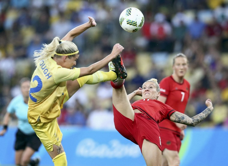 Image: Football - Women's Tournament Gold Medal Match