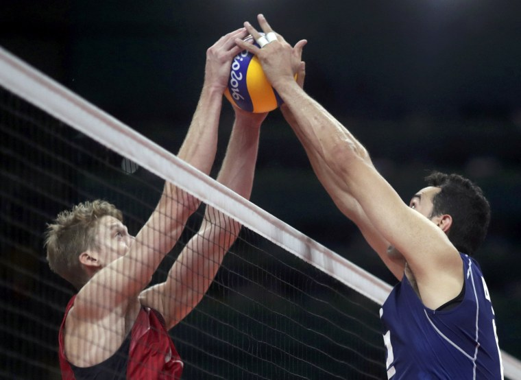 Image: Volleyball - Men's Semifinals Italy v USA