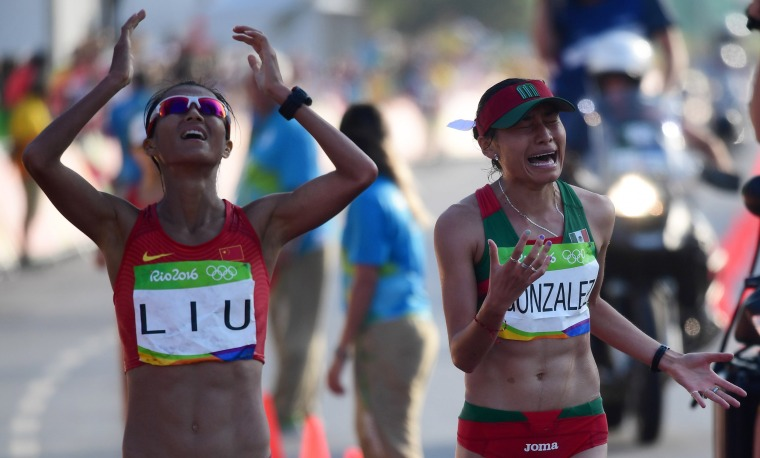 Image: Athletics - Women's 20km Race Walk