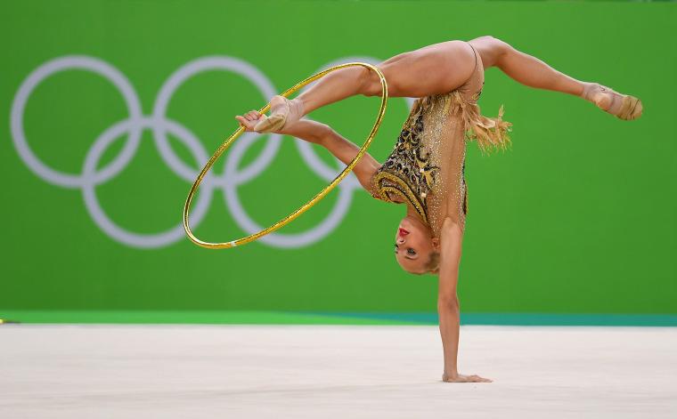 Image: BESTPIX - Gymnastics - Rhythmic - Olympics: Day 14