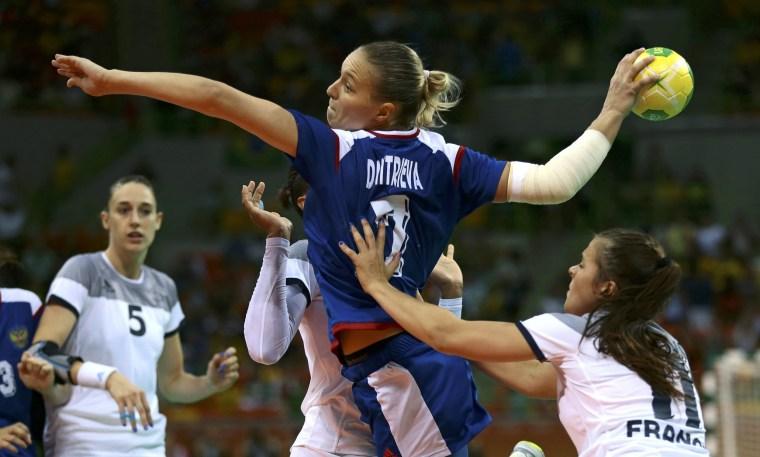 Image: Handball - Women's Gold Medal Game France v Russia