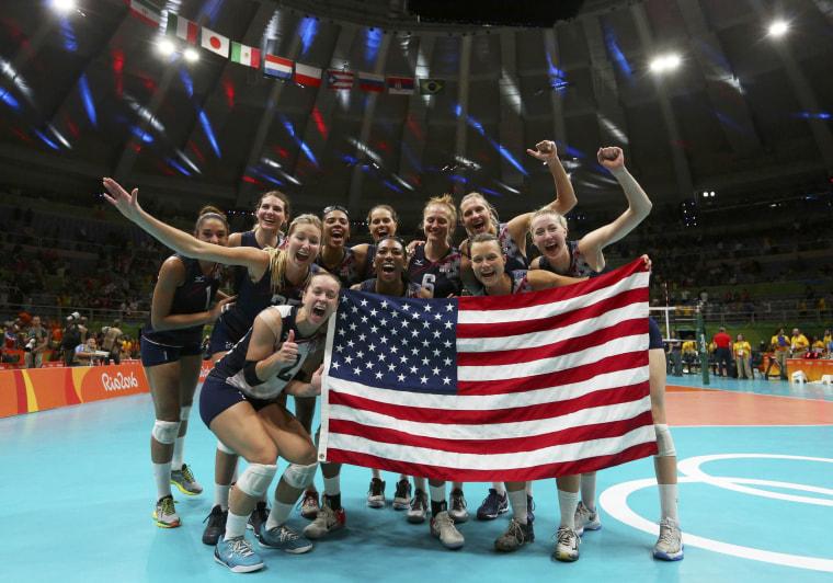 Image: Volleyball - Women's Bronze Medal Match Netherlands v USA