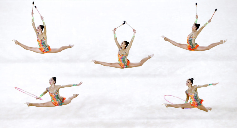 Image: Olympic Games 2016 Rhythmic Gymnastics