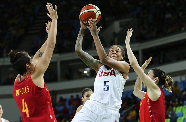 Image: Basketball - Women's Gold Medal Game USA v Spain