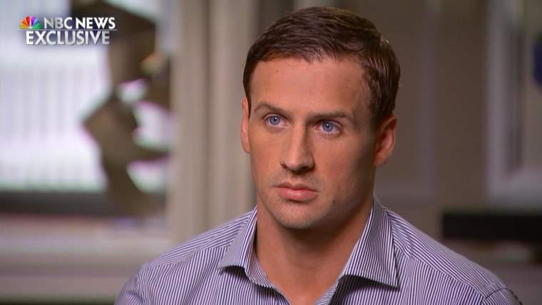 Matt Lauer sat down for an exclusive interview with Ryan Lochte to discuss the U.S. swimmer's deceptive account of being held at gunpoint while in Rio for the 2016 Olympic Games.