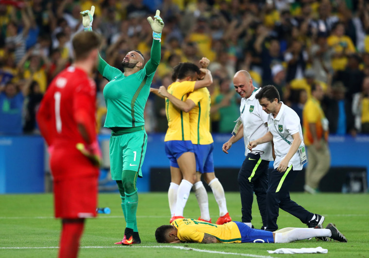 Image: Brazil v Germany - Final: Men's Football - Olympics: Day 15