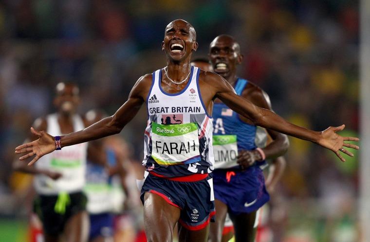 Image: Athletics - Olympics: Day 15