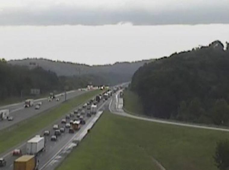 IMAGE: Georgia wreck traffic
