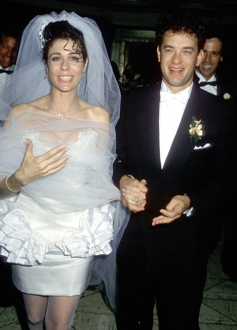 Tom Hanks and Rita Wilson Wedding Reception