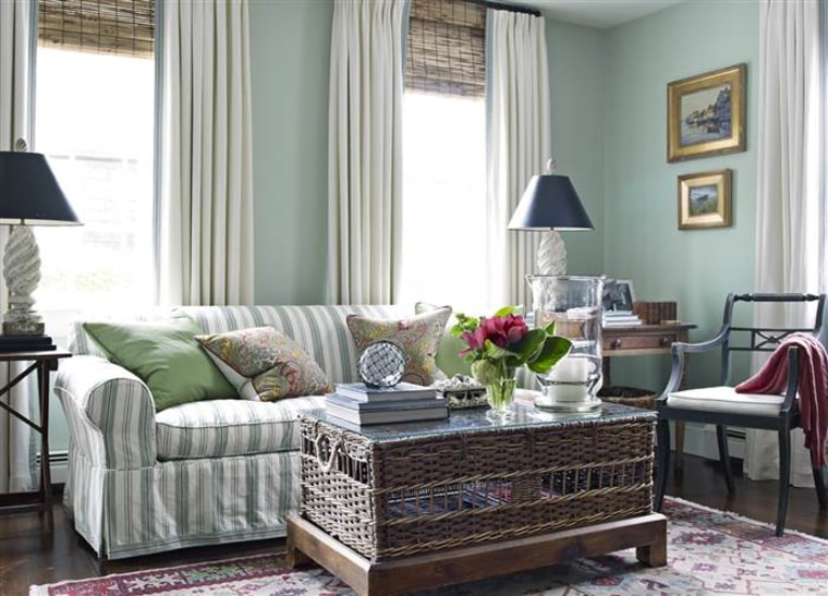House Beautiful tips on how make a small room bigger