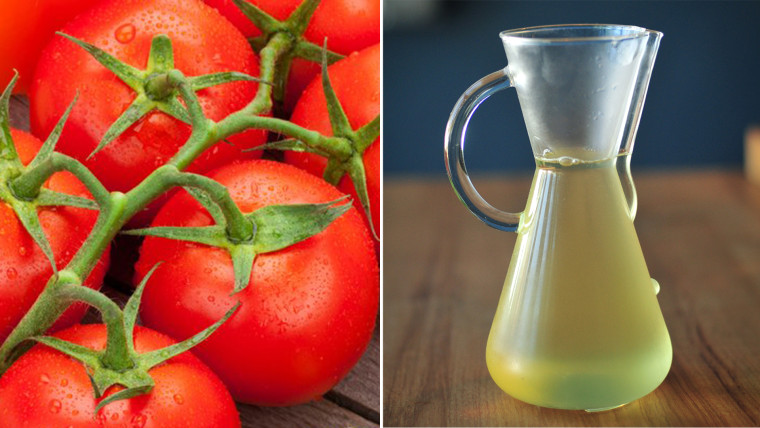 Tomatoes and tomato water