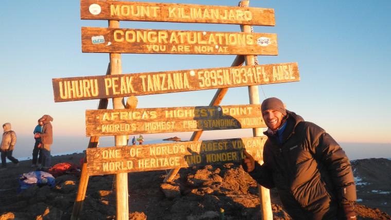 Cancer survivor climbs Kilimanjaro