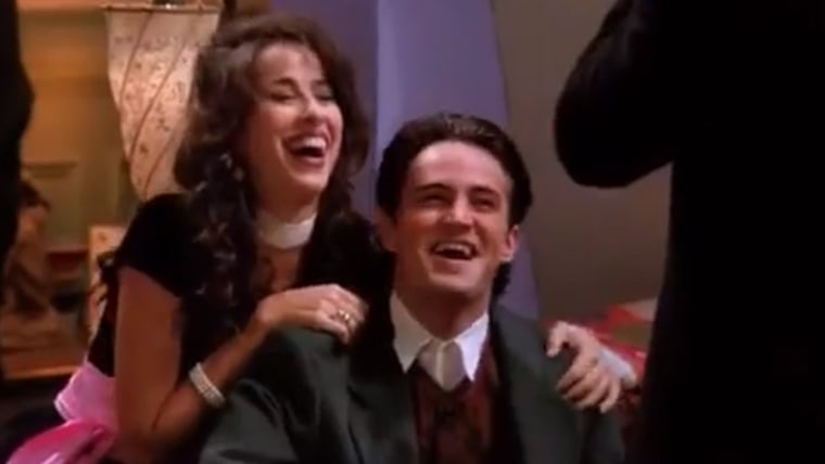 "Janice and Chandler - Maggie Wheeler and Matthew Perry on ""Friends"""