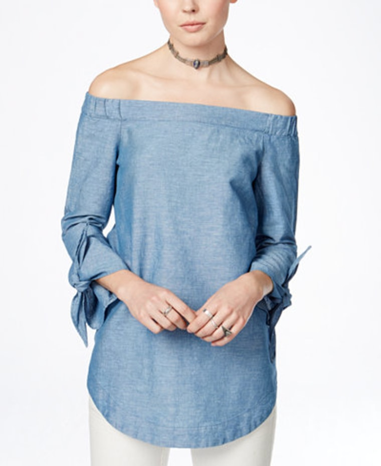 Macy's Free People Off-The-Shoulder Top