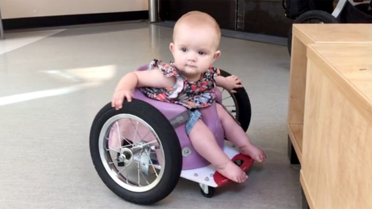Parents Use Pinterest To Craft Toddler A DIY Wheelchair