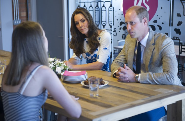 The Duke and Duchess Of Cambridge Visit Luton