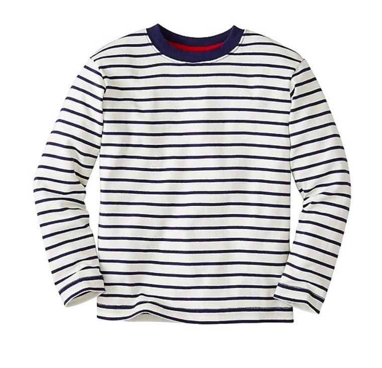 Hanna Anderson striped cotton t-shirt
