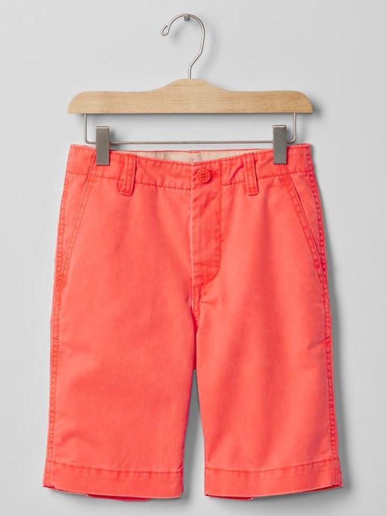 Gap flat front shorts