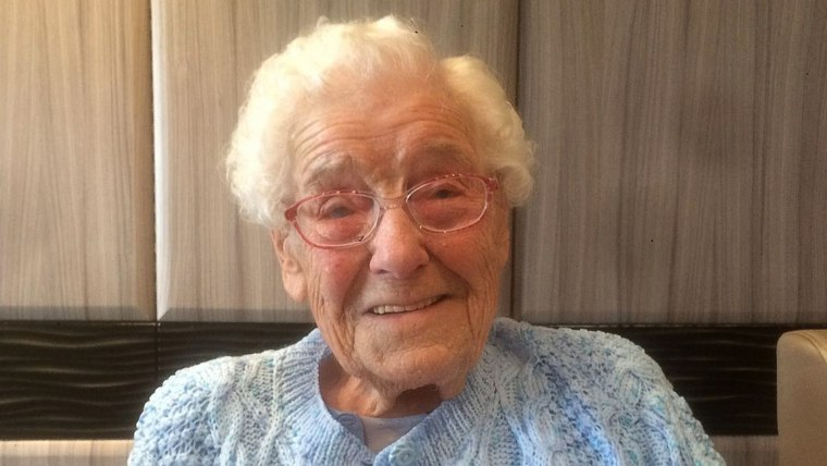 105-yr-old woman asks for hunky firefighters for her birthday party
